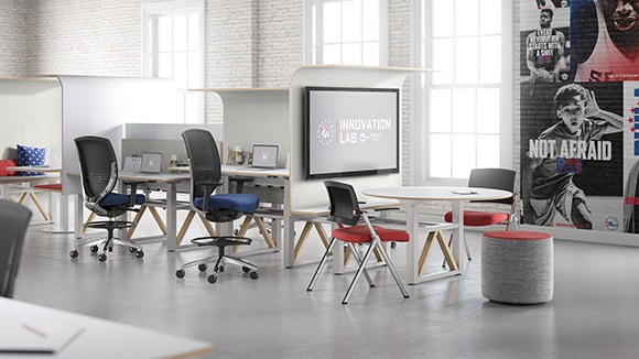 Sixers Innovation Lab Crafted by Kimball